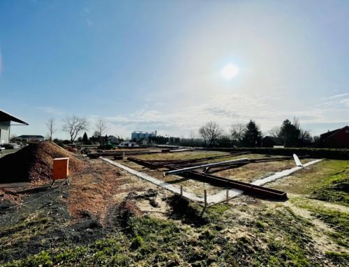 Der Bau unserer neuen Produkstionshalle beginnt!